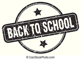 selo, escola, grunge, costas