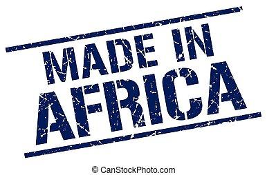 selo, feito, áfrica