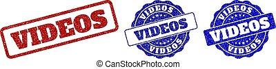selo, grunge, vídeos, selos