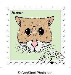 selo, hamster