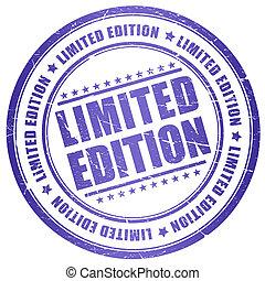 selo, limitado, edição