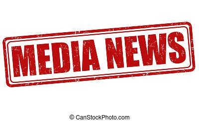 selo, mídia, notícia