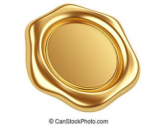 selo ouro
