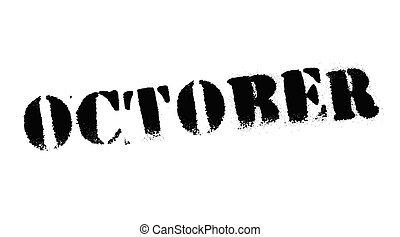 selo, outubro, pretas