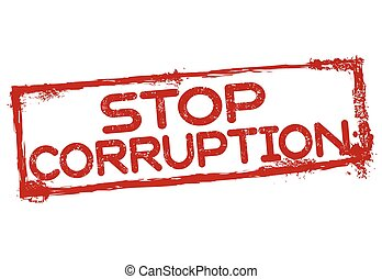 selo, parada, grunge, corrupção