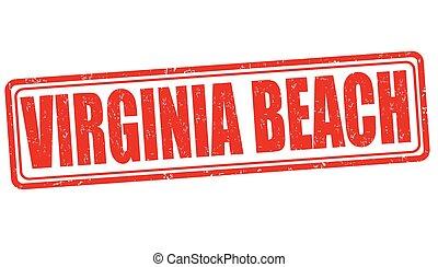 selo, praia, virgínia