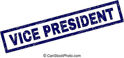 selo, presidente, grunge, retângulo, vício