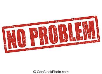 selo, problema, não