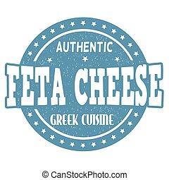 selo, queijo, feta