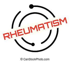 selo, reumatismo, branca