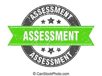 selo, ribbon., sinal, redondo, etiqueta, avaliação