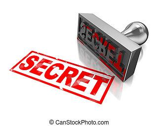 selo, segredo