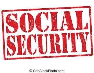 selo, segurança, social