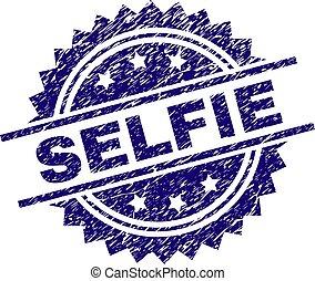 selo, selfie, textured, grunge, selo