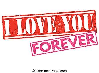 selo, tu, amor, para sempre