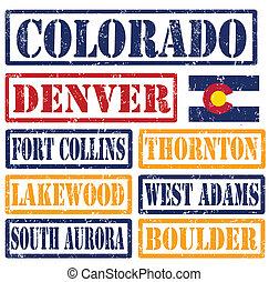 selos, cidades, colorado