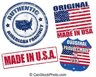 selos, feito, eua