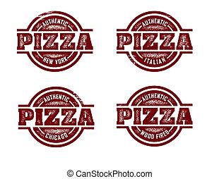 selos, pizza