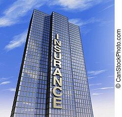 selskab, headquartered, forsikring