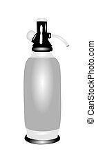 seltzer bottle - siphon bottle retro style