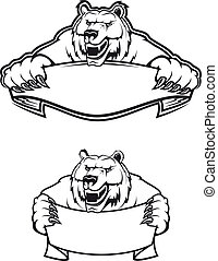selvagem, urso kodiak