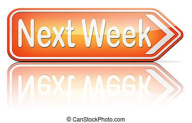 semaine, suivant