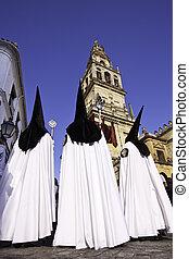 Semana Santa (Holy Week) in Cordoba, Spain.