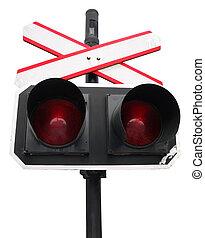 Double red light semaphore