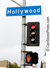 semaphore, Hollywood, Los Angeles, California, USA