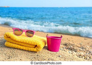 semester, stranden