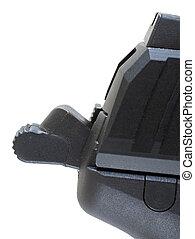 semi auto handgun hammer - hammer on a semi automatic...