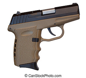 Semi Auto Handgun - Semi automatic handgun with polymer...