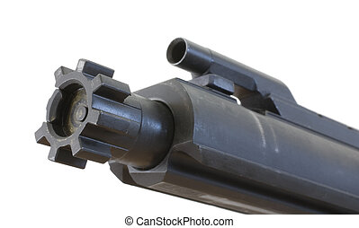 Semi auto rifle bolt - Bolt, firing pin and extract in an...