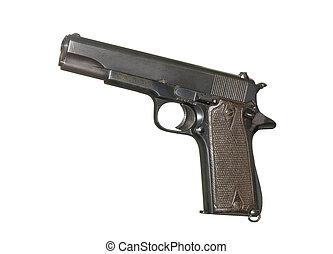 semi-automatic military pistol - U.S. Army handgun Colt...