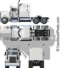 semi-caminhão