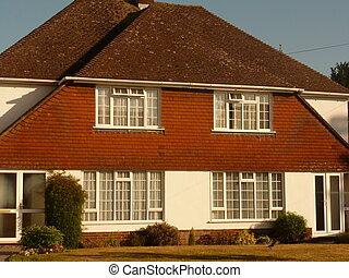 Semi Detached Suburban Houses