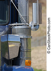 semi lastbil, detalje