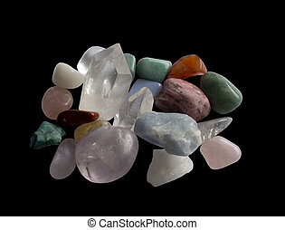 Semi-precious gemstones