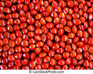 semi, rosso