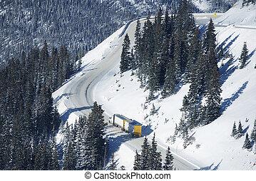 Dangerous Winter Road