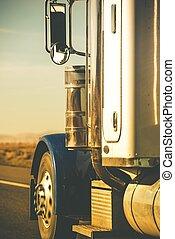 Semi Truck Tractor