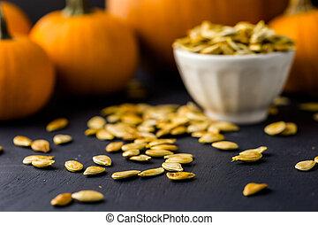 semillas, calabaza