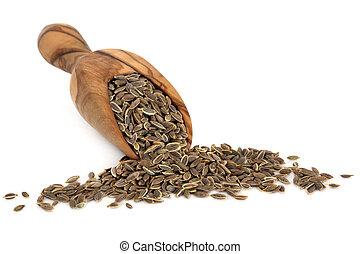 semillas de eneldo