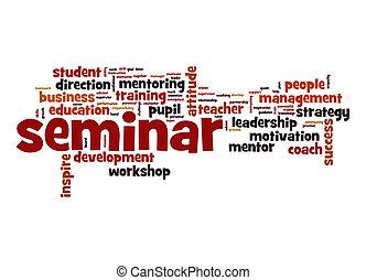 Seminar word cloud