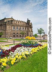 Semper Opera House, Dresden - The famous Semper Opera House...