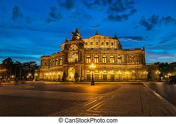 Semper opera in Dresden