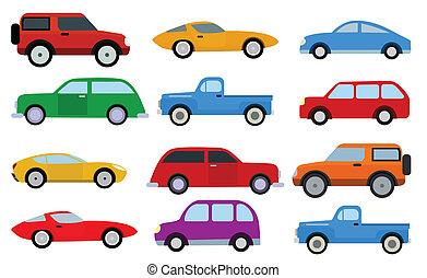 semplice, automobili, collezione