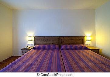 semplice, camera letto