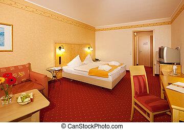 semplice, camera letto hotel