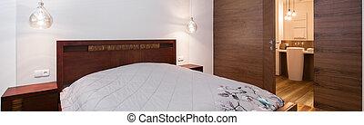 semplice, confortevole, camera letto